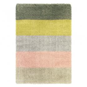tapis shaggy stonewash five multicolore brink & campman