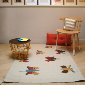 tapis enfant butterflies art for kids