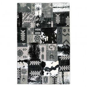 tapis fait main burkina gris taupe the rug republic