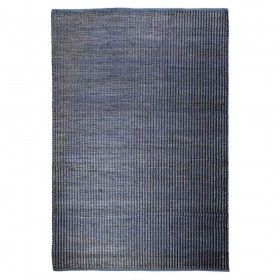 tapis tissé main denali bleu the rug republic
