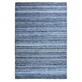 tapis tufté main deniza bleu the rug republic