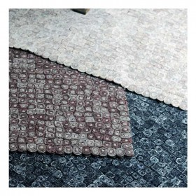 tapis fait main tailo marron the rug republic