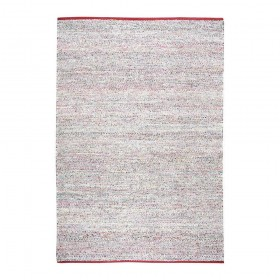 tapis fait main traverse rouge the rug republic