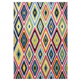 tapis fresh kilim esprit home multicolore