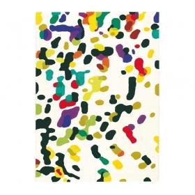 tapis xian confetti blanc multicolore brink & campman