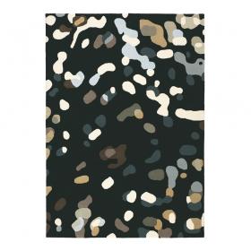 tapis xian confetti noir brink & campman