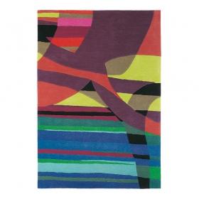 tapis xian glorious rouge multicolore brink & campman