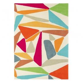 tapis xian triangle multicolore brink & campman