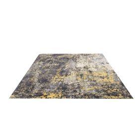 tapis moderne allegorie ocre home spirit