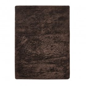 tapis shaggy vision marron home spirit