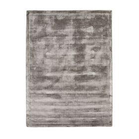 tapis home spirit en viscose gris emil