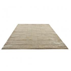 tapis walker en cuir antidérapant ivoire usé de home spirit