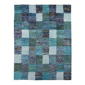 tapis sari bleu home spirit