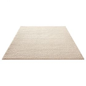 tapis moderne blanc smoothy down to earth