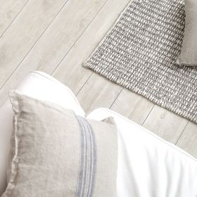 tapis down to earth moderne stone gris taupe et blanc