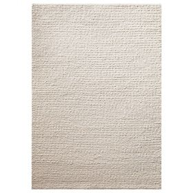 tapis moderne blanc sandy down to earth
