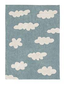 tapis enfant clouds - bleu lorena canals 120x160cm