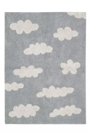 tapis enfant clouds - grey lorena canals 120x160cm