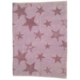 tapis enfant réversible vintage star violet lorena canals