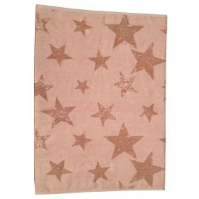tapis enfant réversible vintage star orange lorena canals