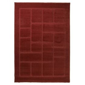 tapis moderne rouge 4304 flair rugs