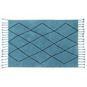 tapis lavable petroleum - lorena canals