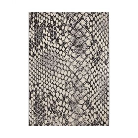 tapis moderne snake beige wecon