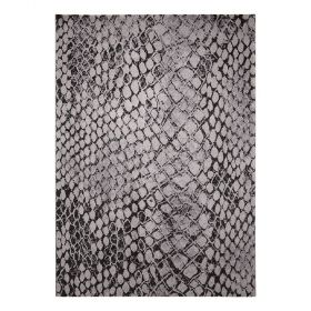 tapis moderne snake gris wecon