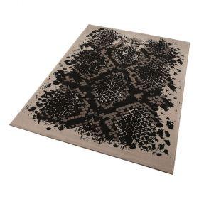 tapis moderne python beige wecon