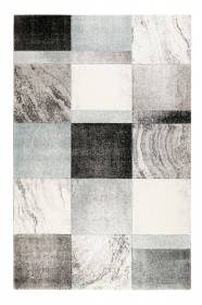 tapis mirage gris et bleu - wecon