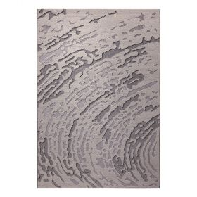 tapis wecon forest moderne gris