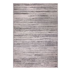 tapis wecon woodland moderne marron
