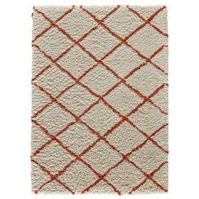 tapis moderne zagora rouge angelo