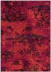 Tapis Toile de Jouy Arte Espina rouge