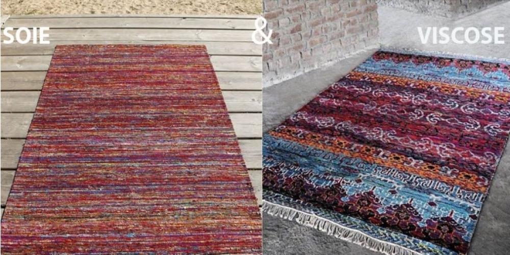 tout savoir sur les tapis en soie et viscose pour bien choisir son tapis. Black Bedroom Furniture Sets. Home Design Ideas