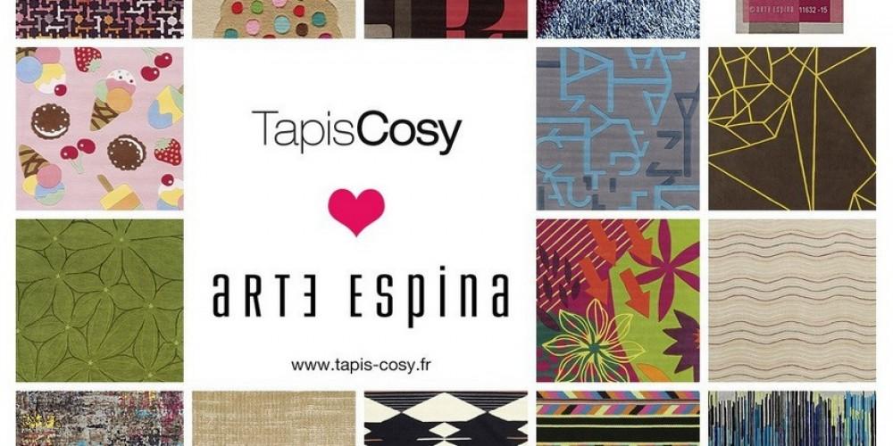 La nouvelle collection 2015 des tapis Arte Espina est arrivée chez Tapis Cosy !
