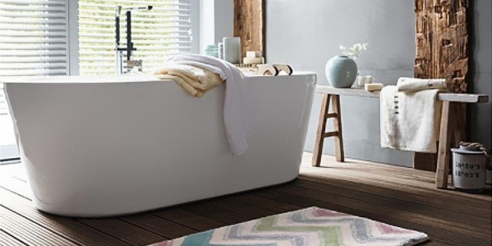 Un tapis dans ma salle de bain