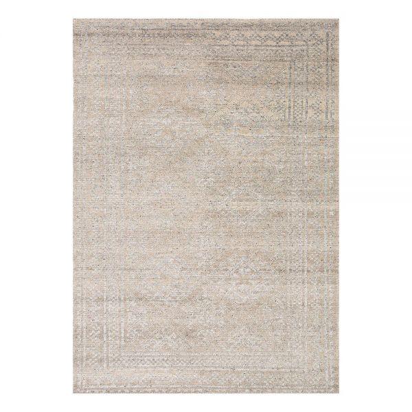 tapis moderne ligne pure laine gris colors