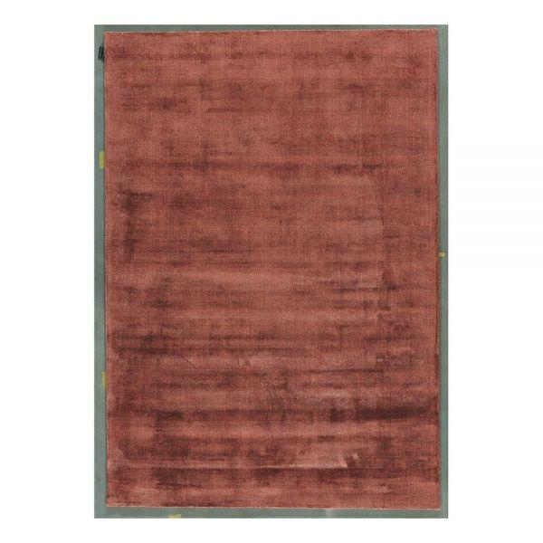 tapis moderne erased rouge - angelo