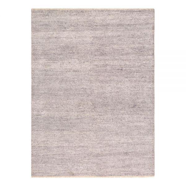 tapis moderne ligne pure viscose gris uni 140 x 200. Black Bedroom Furniture Sets. Home Design Ideas