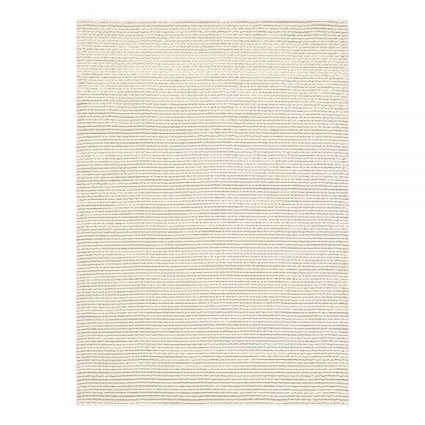 tapis moderne blanc laine dream ligne pure