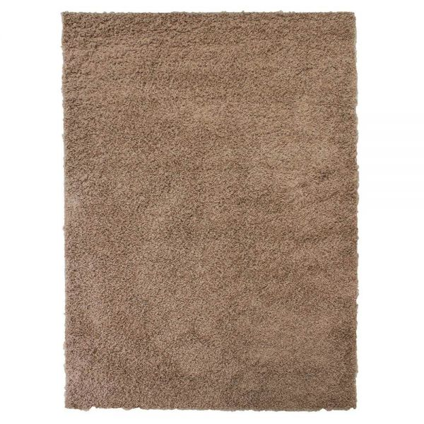 tapis shaggy beige 4cm flair rugs 140x200. Black Bedroom Furniture Sets. Home Design Ideas