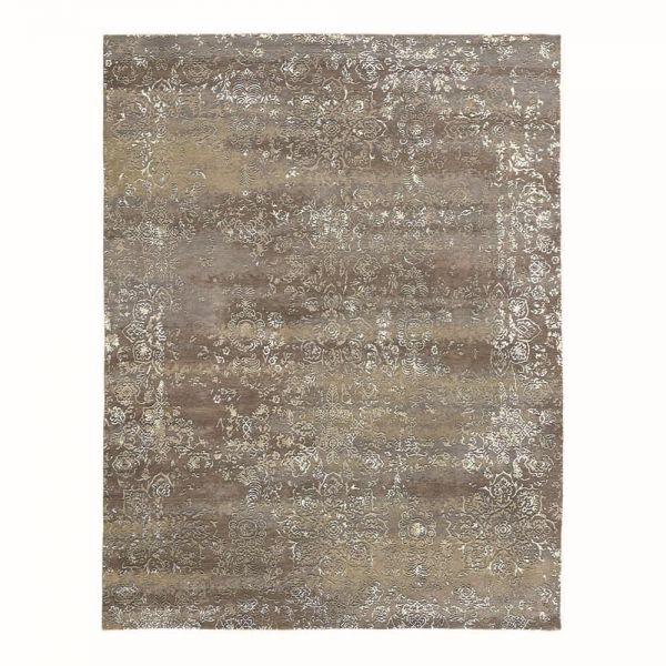 tapis moderne heritage gris angelo