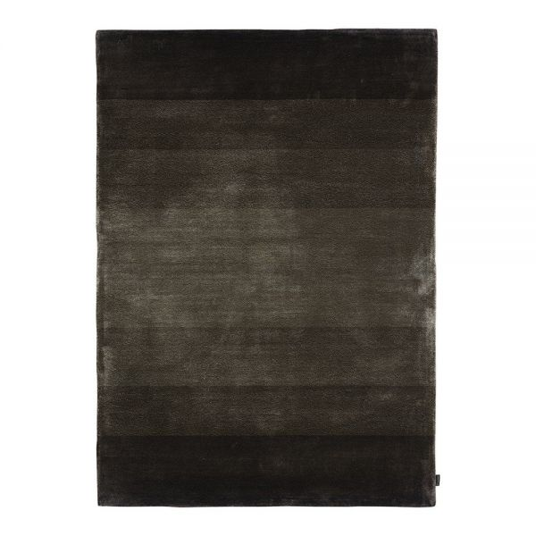 tapis moderne optic noir angelo