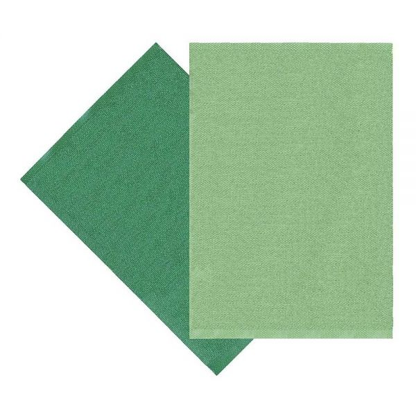 tapis moderne sofie sjöström flip vert foncé