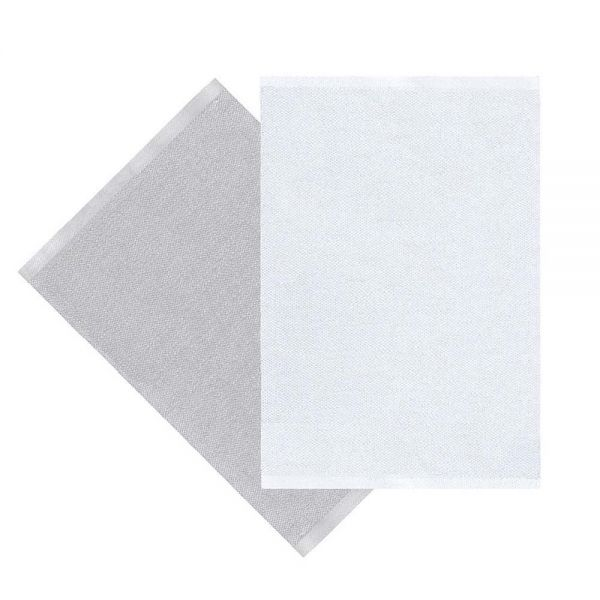 tapis moderne sofie sjöström flip blanc et gris