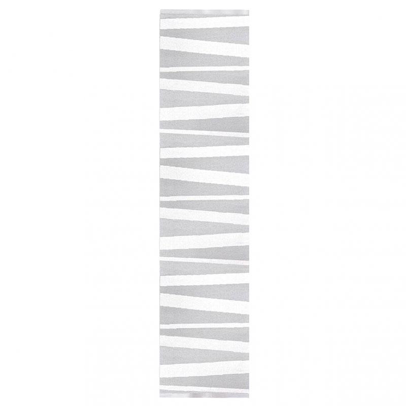 tapis de couloir are sofie sjostrom design rayé gris et blanc