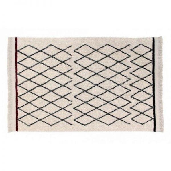 tapis lavable crisscross 140x210 - lorena canals