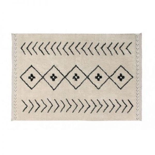 tapis lavable rhombs 140x210 - lorena canals