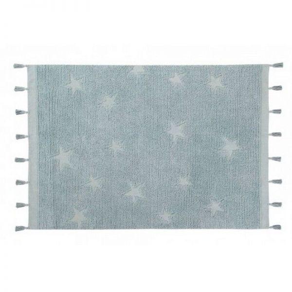 tapis lavable stars aqua 120x175 - lorena canals